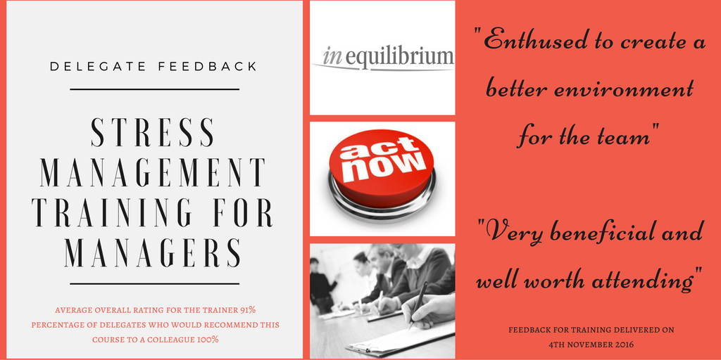stress management training feedback
