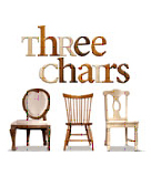 Three chairs in a row