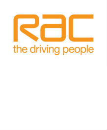 "RAC ""The Driving People"" logo"
