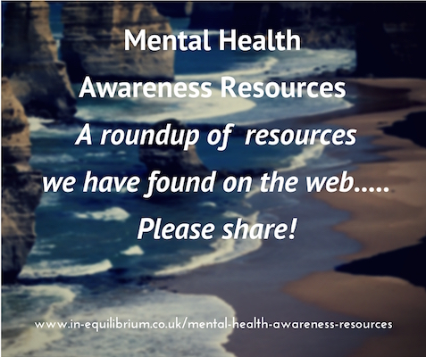 Mental Health Awareness Resources – Page Now Live