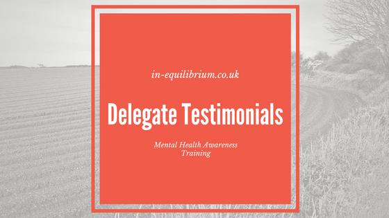 delegate testimonials