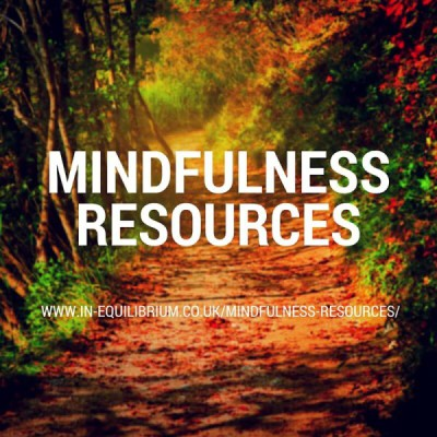 New Mindfulness Resources Page