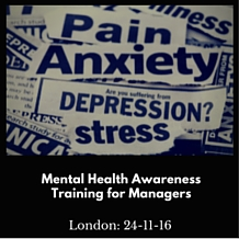 Mental Heralth Awareness Training for Managers
