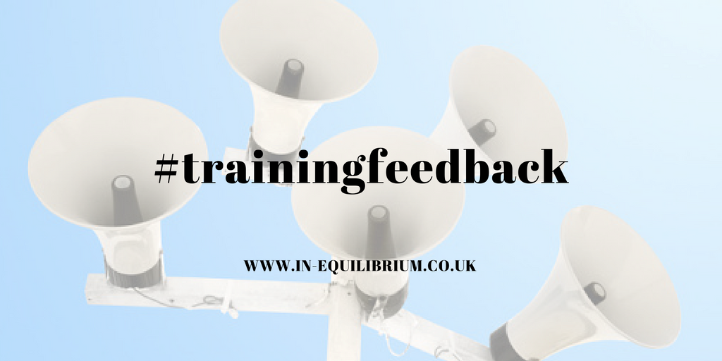 Preventing Bullying and Harassment Training – Feedback from delegates