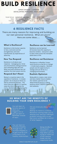 Resilience facts - It can be learned!