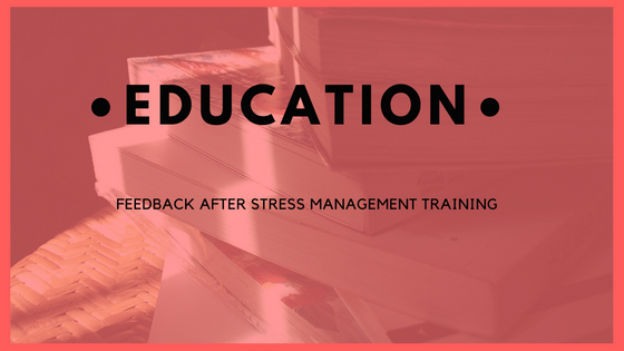 Use an In-service Day for Stress Management Training