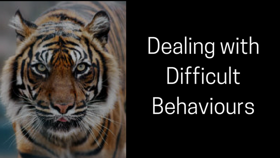 New Course: Dealing with Difficult Behaviours