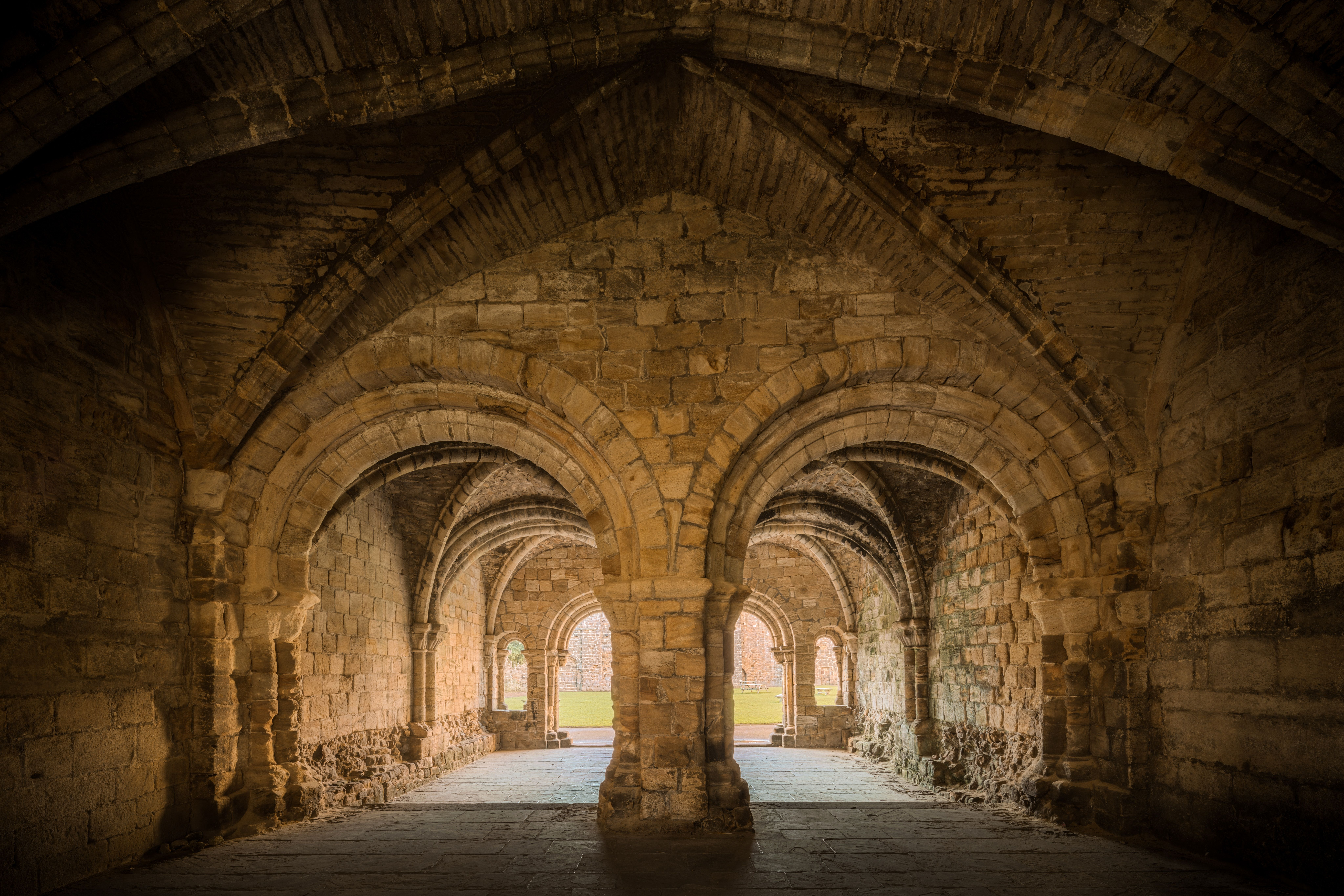 Kirkstall Abbey, Leeds, United Kingdom