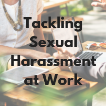 Tackling Sexual Harassment at Work – training course now available