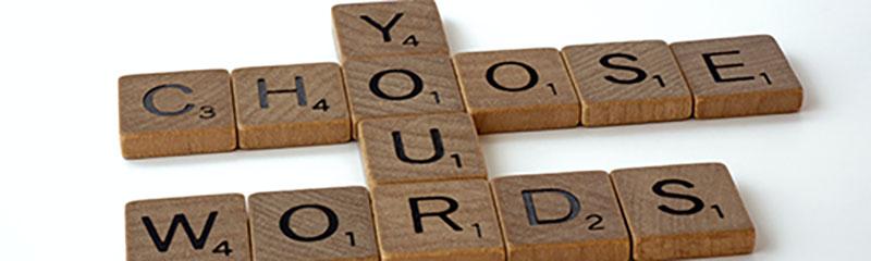 choose your words DESC